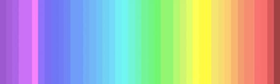 ¿ Cuántos colores puedes ver ?