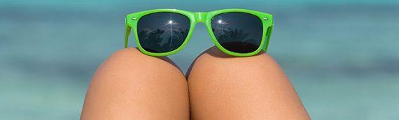 Protege tus ojos en la playa